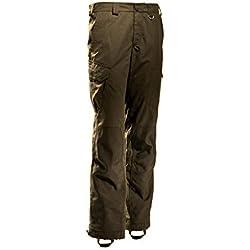 Outfox Schöffel Outback Dark Oak - Pantalones de Caza para Hombre, con tecnología Ergotarn, antigarrapatas 52.