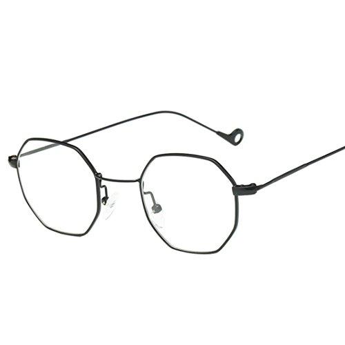 OverDose OverDose Unisex Sommer Frauen Männer Moderne Modische Spiegel Polarisierte Katzenauge Metallrahmen Sonnenbrille Brille Damensonnenbrille Herrensonnenbrille (J)