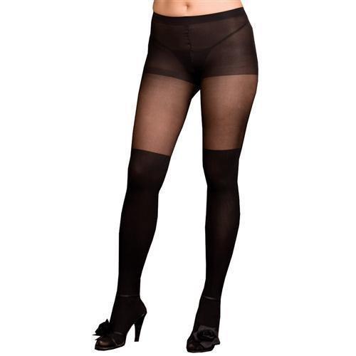 Pantyhose Sheer Black Queen - Queen Pantyhose
