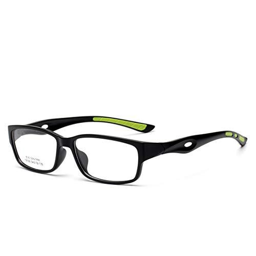 Karidesh Sport Brillengestell Rutschfeste Silikon Brillengestell Brillen für Frauen Männer (Color : Green)