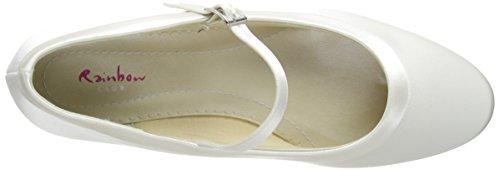 Elsa Coloured Shoes, Scarpe col tacco donna Avorio Avorio * Avorio (Avorio)
