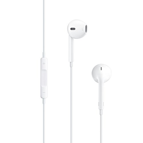 Apple Ipad 4 Wifi+ Cellular Compatible Stereo Earpods Earphone Headphone Handsfree Headset With 3.5MM Jack,Mic and Sound Control For Apple Ipad 4 Wifi+ Cellular (White) By AWAKSHI