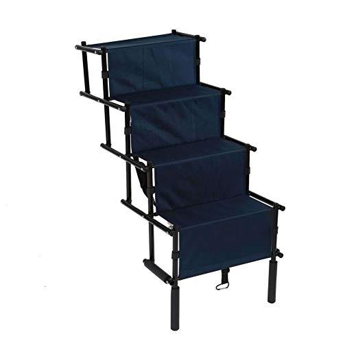 Hundetreppen, Teleskop Hunderampe Auto Kofferraum Rampe Anti-Rutsch Pet Ladder Perfekt für Young, Old, schwache oder Kranke Hunde, um in und aus der Auto