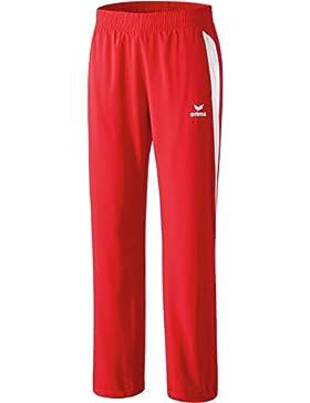 erima Anzug Premium One Präsentationshose - Prenda, color blanco/rojo, talla DE: 42
