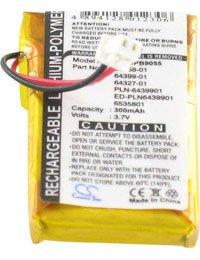 Batteria per PLANTRONICS CS50-USB, 3.7V, 300mAh,