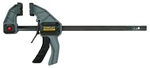 Stanley Einhandzwinge (Größe L, 135 kg Spannkraft, 300 mm Spannweite, 495 mm Länge, 175-480 mm Spreizweite) FMHT0-83235