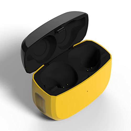 Lopnord Boîtier de Charge Remplacement Compatible avec Le Jabra Elite Active 65t (Etui Vendu Seul, Écouteurs Non Fournis), Supplémentaire Cache de Protection pour Écouteurs avec Batterie Intégrée