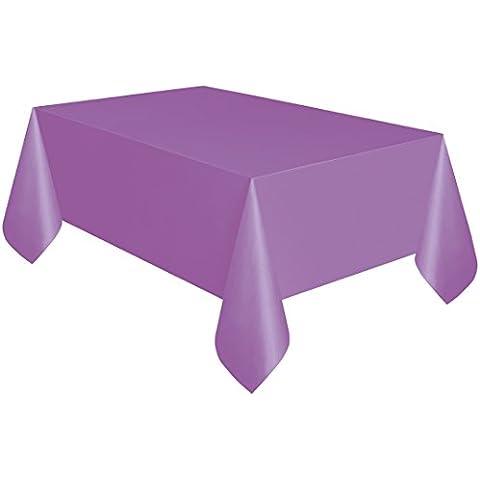 Pretty viola in plastica per tavolo panno pulire partito Tovaglia