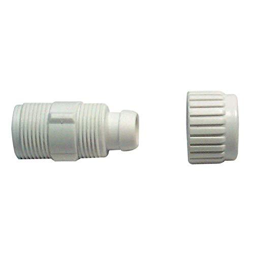 Flair-it 16872 Boîte plastique adaptateur mâle pour Flex pour la pratique de la taille, 1,9 cm