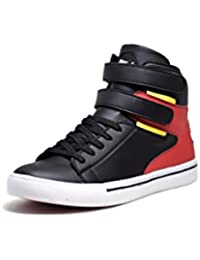 DOC Martin Black Everest Mid Top Sneakers