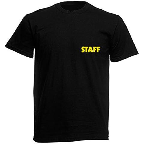 Front & Back personale, per il lavoro, colore: giallo, Rosso, Nero, Bianco, Grigio, motivo: maglietta di sicurezza-Free Postage-
