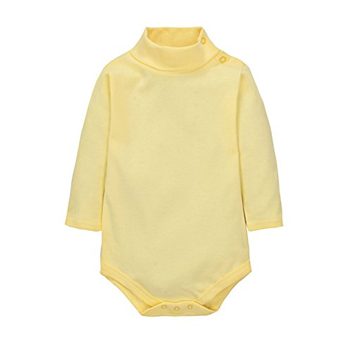 CuteOn Bebes Chicos Chicas Color sólido Basic Turtleneck