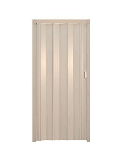 Porte a soffietto pvc 82x214 bianco (085772)