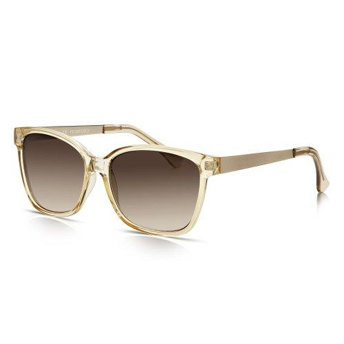 Sunglass Junkie - Gafas de sol - para bebé niño Kristallklares Karamell
