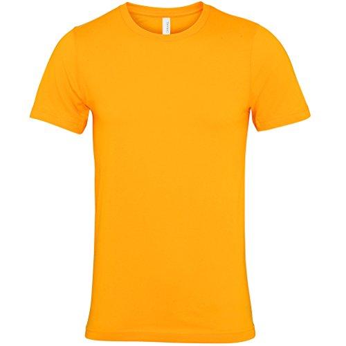 Jersey crew neck t-shirt Olive Bella Canvas Streetwear Shirts Manner Gold - Gold