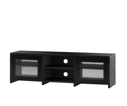 Sonorous Lb1620 Black Ready Assembled Television Cabinet For Tv's Up To 70 Inch
