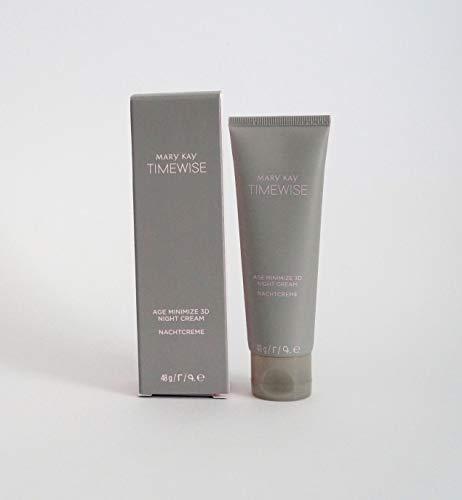 Mary Kay TimeWise Age Minimize 3D Night Cream, Nachtcreme für normale bis trockene Haut 48g Mhd...