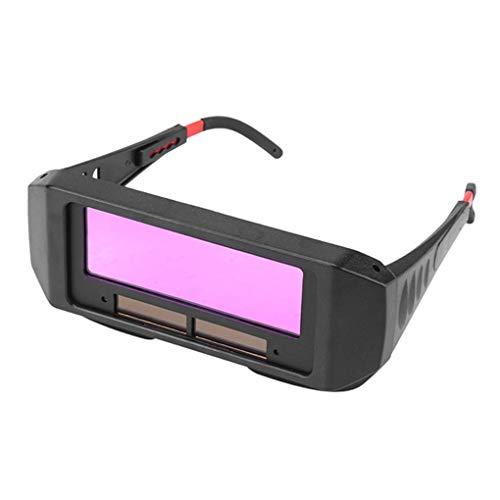 IMHERE W U Solar-Auto Verdunkelung Schweißhelm Augenschutz Schweißer Cap Goggles Maschine Cutter Lötstopplack Filter Objektiv Werkzeuge - Schweißer-cap