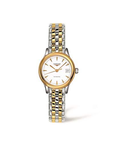 Longines flagship Les grandes para mujer 26 mm cristal mineral FECHA reloj L42743227