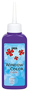 KREUL 40209-Window Color Cristal Transparente, 80ml, púrpura