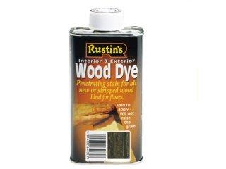 Rustins 5015332650149 Wood Dye - Dark Oak