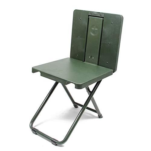 Soldaten Soldat Outdoor mehrzweck Klappstuhl Tragbare Klappstuhl Schreibtisch Tisch Armee Fan Mazar Angeln Stuhl ZHANGAIZHEN (Farbe : Armeegrün)