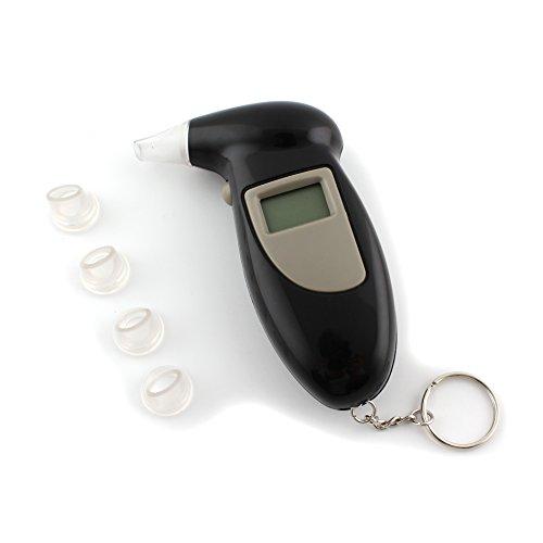 Atem-detektor (Digital Alkohol Atem TESTER Analysegerät Detektor Schlüsselanhänger DX)