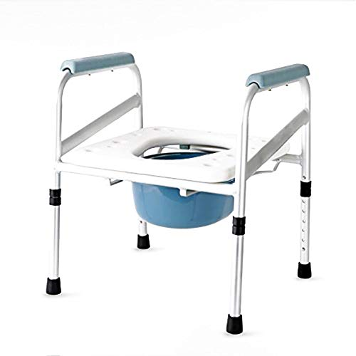 Duschsitz   Duschklappsitz (mit Armlehnen und hufeisenförmigem Sitz) Für Fette Person/Ältere/Behinderte Menschen aus pflegeleichtem by DRM