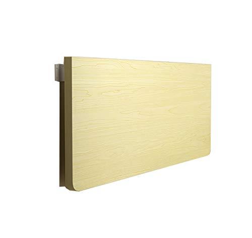 Schreibtische Weißer Ahorn-Laptop-Schreibtisch An Der Wand Befestigter Drop-Leaf-Computer/Küche-Speisetisch Büro-Computer-Workstation-Tisch, Weißer Ahorn (größe : 90x40cm) -