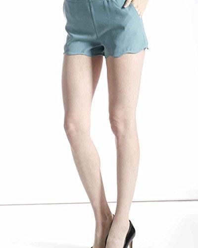 SilvianHeach Donna Shorts Bosa Pantaloncini Hot Pants Leggeri Casual Nero XXS