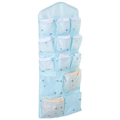 81 Bad (WDOIT Doppelseitig Hängender Organizer Hängeorganizer Hängetasche Aufbewahrungstasche fur Wohnzimmer Schlafzimmer Bad Küche, Halten Sie es aufgeräumt, 35 * 81CM)