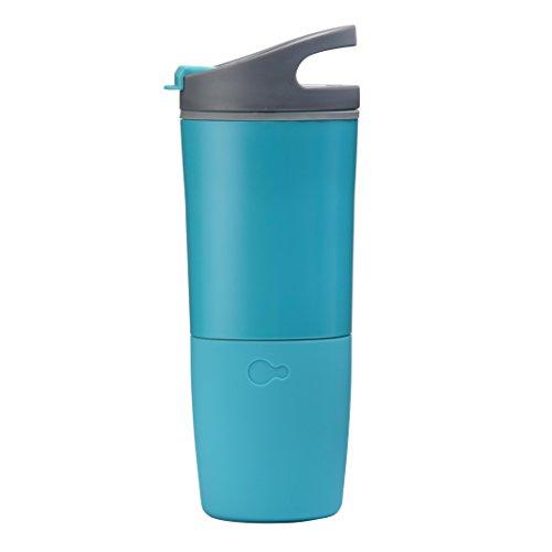 Ozmo CSPOSGS CSPOSGS Active Smart-Trinkflasche Becher Tasse Intelligente Sportflasche mit Hydrations türkis Türkis