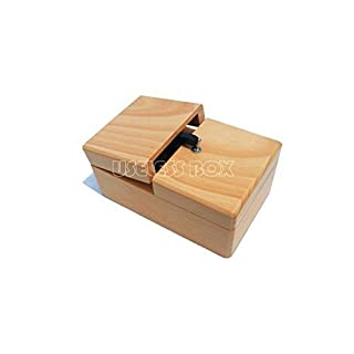 Wooden Useless Box Most Useless Machine Leave Me Alone Box