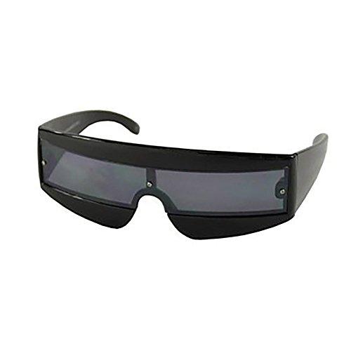 HuaYang Unisex hd lunettes de soleil noires jaune lentille de la conduite de nuit vision(Jaune) 3OBGF