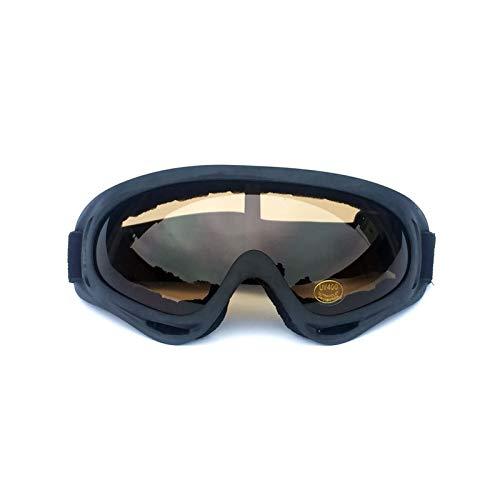 Beydodo Schnee Brille Fahrrad Schwarz Braun Motorrad Brille Selbsttönend Arbeitsbrille Schutzbrille Schutzbrille Infrarotlampe