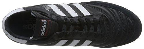 adidas - Mundial Team, Scarpe da calcio da uomo Nero (Black / Running White Ftw / Red)