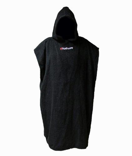 northcore-beach-basha-poncho-changing-robe-black-noco24a