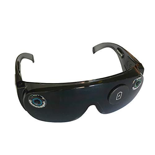 REMSTIM 3000 EMDR-Brille für Selbstcoaching zur Stimulation von Augenbewegungen, schwarz (1 Set)