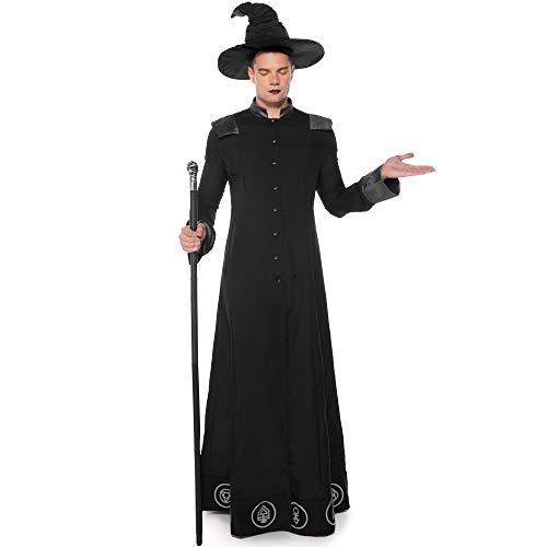 Assistenten Kostüm Männliche - TTWL Halloween Kostüm Assistent Kostüm Cosplay Spiel Animation Bühnenperformance XL