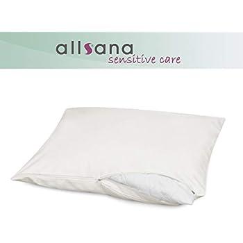 Allsana Allergiker Kissenbezug 80x80 Cm Allergie Bettwäsche Anti