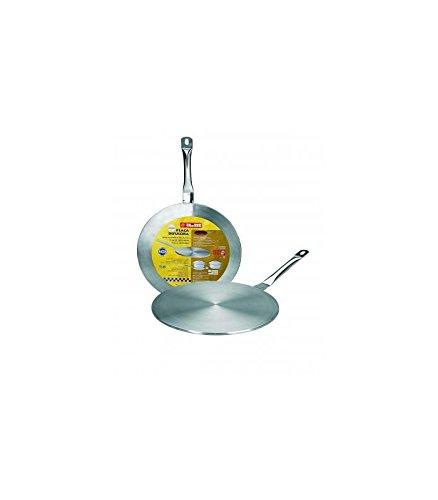 Ibili 703714 Adaptateur induction - vitrocéramique 14 cm (Inox 18%)