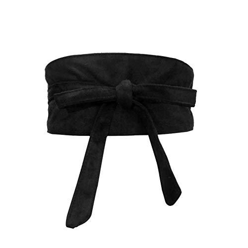 TMSHEN Mode Frauen Gürtel Weiche Faux Wildleder Bowknot Körperformung Bands Breite Gürtel Korsett Ceinture Femme Match Kleid Gürtel Für Frauen