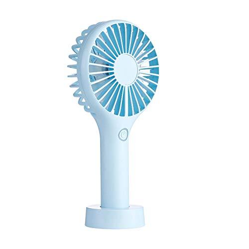 NN-xUE Mini-Ventilator, Handheld-Desktop-Energiesparlampe Mini-Lüfter-USB-3-Geschwindigkeits-Silent-Charging-Handheld-Kleinventilator-Büroraum Outdoor-Haushalt Reisen -