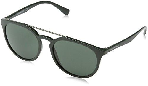 Emporio Armani Herren EA4103-559771-56 Sonnenbrille, Green, 56