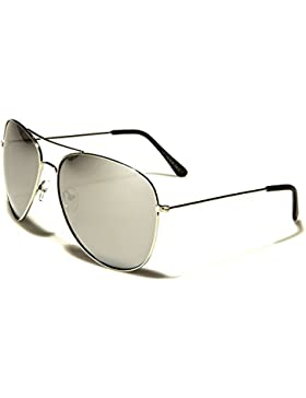Air Force UV400 Gafas de Sol Estilo Aviator (La Nueva Temporada) Con Funda