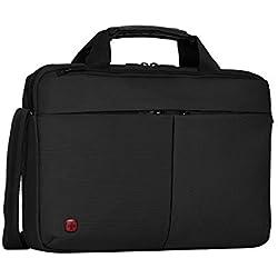 """Wenger 601062 Format - Maletín con Compartimento Acolchado para portátil (16"""") Color Negro"""