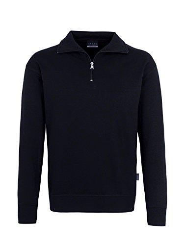 Hakro Zip-Sweatshirt Premium, schwarz, 6XL