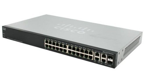 POE Stackable Managed Switch with Gigabit Uplinks ()