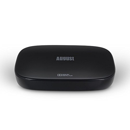 August DVB500 – Smart Decoder/Registratore TDT HD con Android 4.4 – DVB-T e DVB-T2 con Play Store -