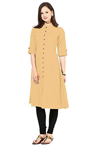 Muta Fashions Chiku Kurti For Fancy Women's Kurtas for Girls Fabric (Fabric...